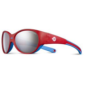 Julbo Kids 3-5Y Puzzle Spectron 3+ Sunglasses Red/Blue-Gray Flash Silver